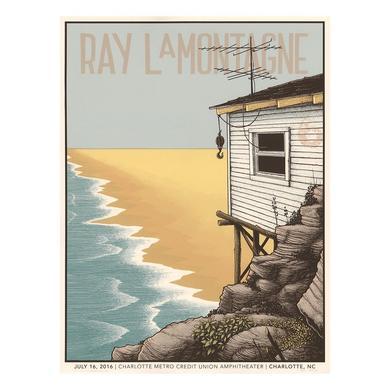 Ray Lamontagne The Ouroboros Tour 2016 - Charlotte, NC Poster