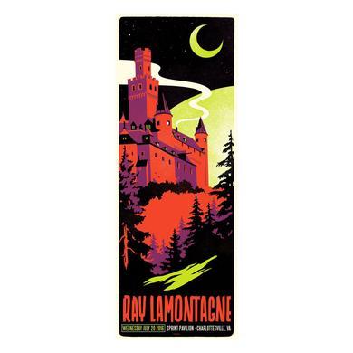 Ray Lamontagne The Ouroboros Tour 2016 - Charlottesville, VA Poster