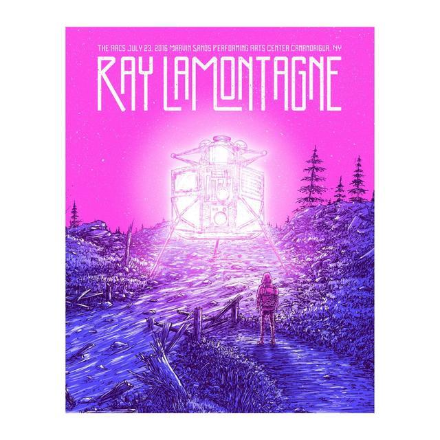Ray Lamontagne The Ouroboros Tour 2016 - Canandaigua, NY Poster