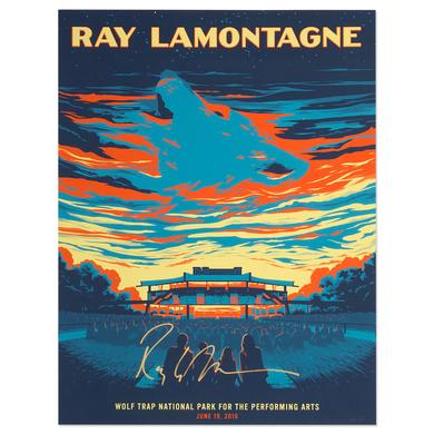 Ray Lamontagne The Ouroboros Tour 2016 - Vienna, VA Poster
