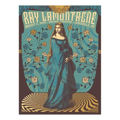 Ray Lamontagne The Ouroboros Tour 2016 - Louisville, KY Poster