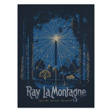 Ray Lamontagne The Ouroboros Tour 2016 - Minneapolis, MN Poster