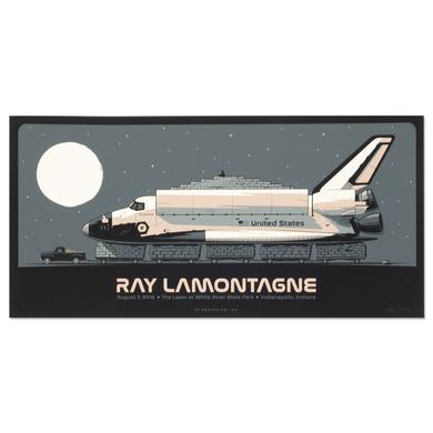 Ray Lamontagne The Ouroboros Tour 2016 - Indianapolis, IN Poster