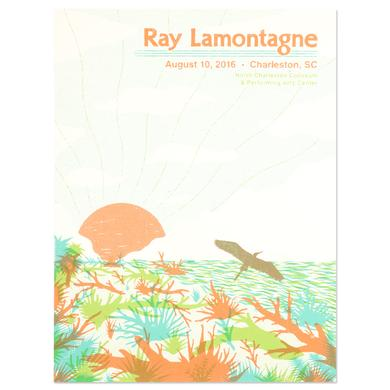 Ray Lamontagne The Ouroboros Tour 2016 - Charleston, SC Poster