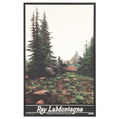 Ray Lamontagne The Ouroboros Tour 2016 - Chicago, IL Poster