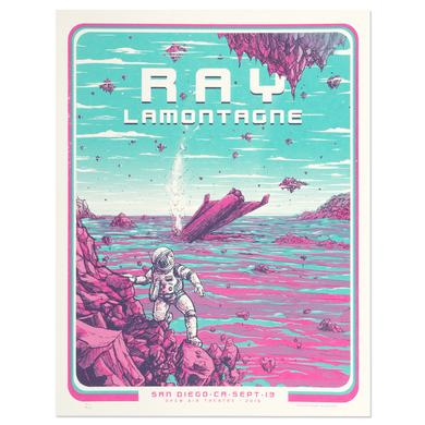 Ray Lamontagne The Ouroboros Tour 2016 - San Diego, CA Poster