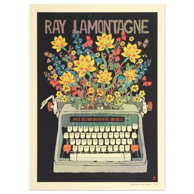 Ray Lamontagne The Ouroboros Tour 2016 - Santa Rosa, CA Poster