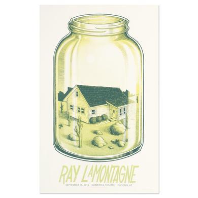 Ray Lamontagne The Ouroboros Tour 2016 - Phoenix, AZ Poster