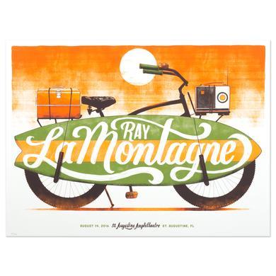 Ray Lamontagne The Ouroboros Tour 2016 - St. Augustine, FL Poster