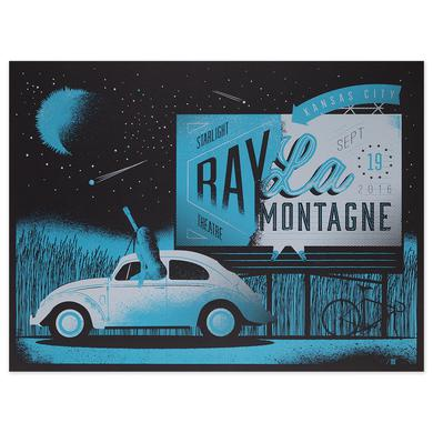 Ray Lamontagne The Ouroboros Tour 2016 - Kansas City, MO Poster