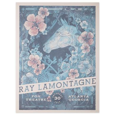 Ray Lamontagne The Ouroboros Tour 2016 - Atlanta, GA Poster