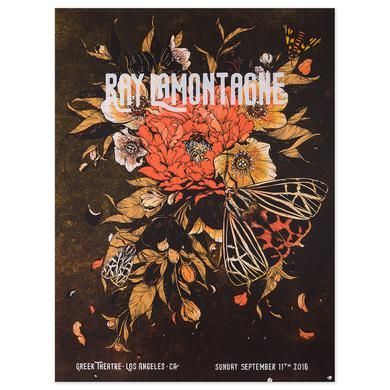 Ray Lamontagne The Ouroboros Tour 2016 - Los Angeles, CA Poster