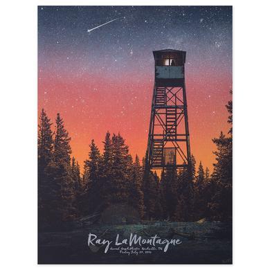 Ray Lamontagne The Ouroboros Tour 2016 - Nashville, TN Poster