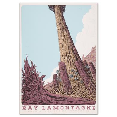 Ray LaMontagne 2014 Troutdale, OR Event Poster