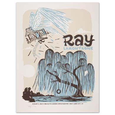 Ray LaMontagne 2014 Salt Lake City, UT Event Poster