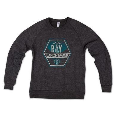 Ray LaMontagne Gray Crewneck Sweatshirt