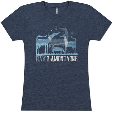 Ray LaMontagne Ladies Horse Tee