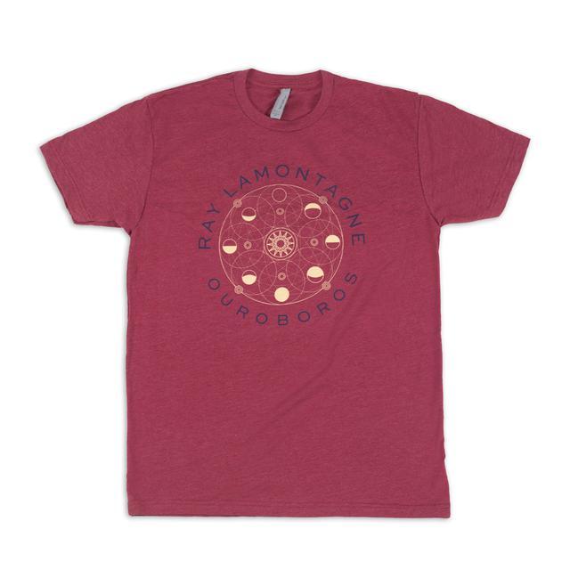 Ray Lamontagne Ouroboros Tour Logo T-shirt