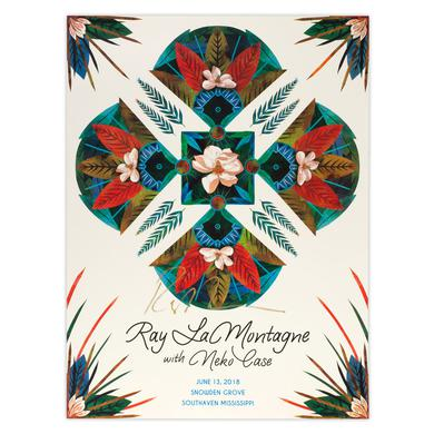 Ray Lamontagne Part Of The Light Tour 2018 - 6/13 Southaven MS Poster
