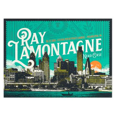 Ray Lamontagne Part Of The Light Tour 2018 - 6/22 Philadelphia PA Poster