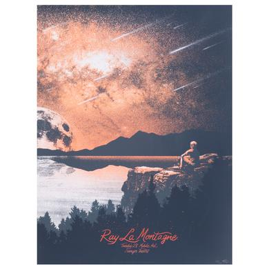 Ray Lamontagne 2014 Mobile, AL. Event Poster