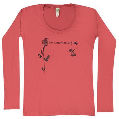 Ray LaMontagne - Women's Hummingbird Longsleeve T-Shirt