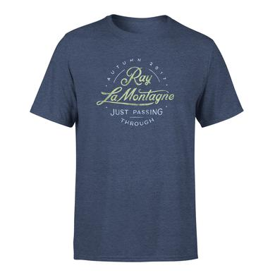 Ray Lamontagne Just Passing Through 2017 Autumn Tour Tee