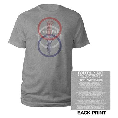 Robert Plant Trifecta Feather Itinerary Tee