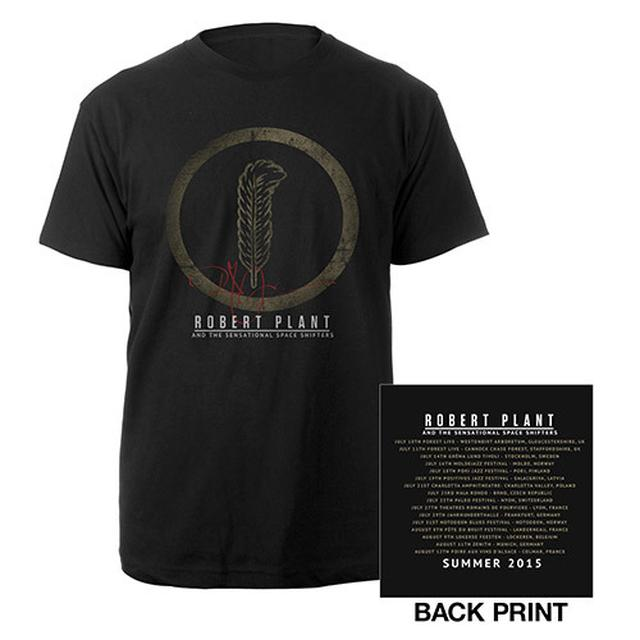Robert Plant Feather/Itin 2015 T-shirt