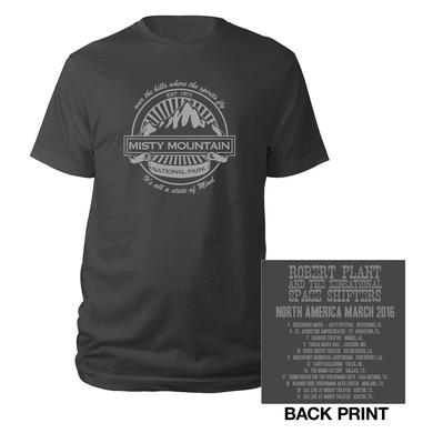 Robert Plant Misty Mountain 2016 Tour Tee
