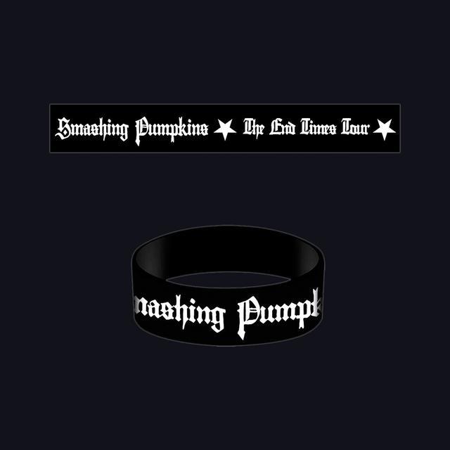 Smashing Pumpkins End Times Rubber Bracelet