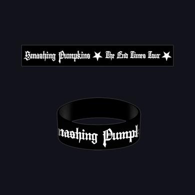 Smashing Pumpkins End Times Rubber Bracelet