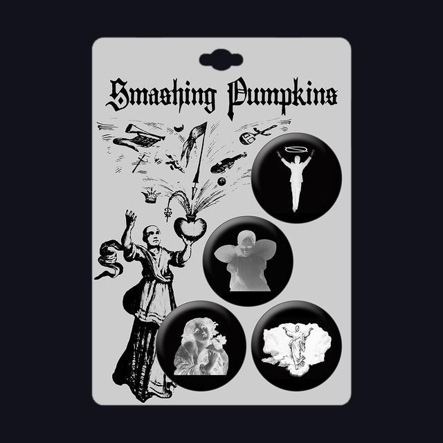 Smashing Pumpkins In Plainsong Pin Set