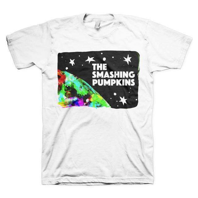 The Smashing Pumpkins SPACE PUMPKINS WHITE TEE