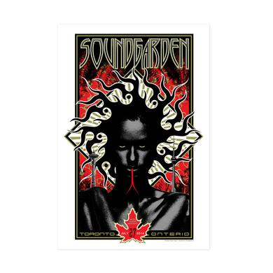 Soundgarden July 27th 2014 Toronto Event Poster