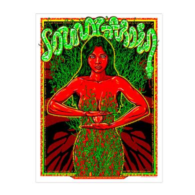 Soundgarden August 8th 2014 Atlanta Event Poster