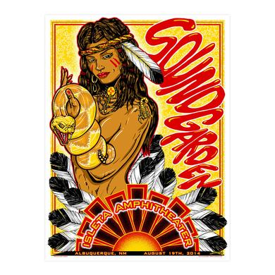 Soundgarden August 19th 2014 Albuquerque Event Poster