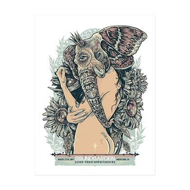 Soundgarden August 27th 2014 Wheatland Event Poster