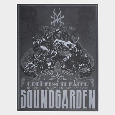 Soundgarden Orpheum Event Poster