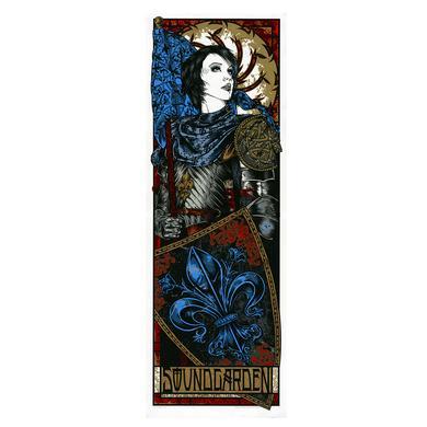 Soundgarden Le Zenith Event Poster