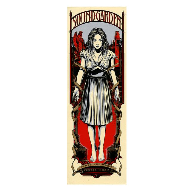 Soundgarden Vie Pavilion Event Poster