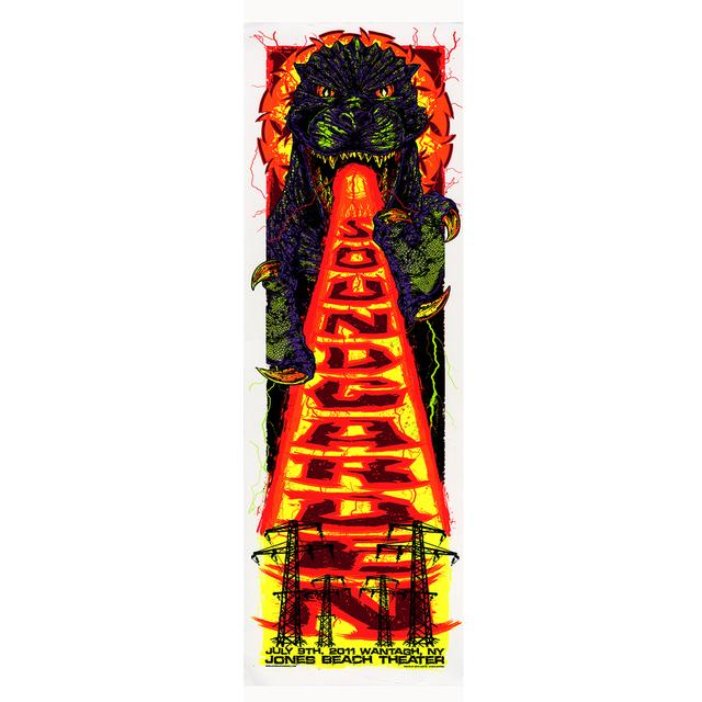 Soundgarden Jones Beach Theater Event Poster