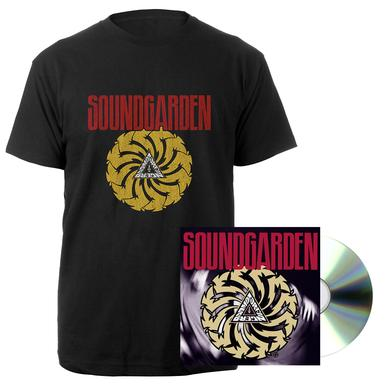 Soundgarden Badmotorfinger 25th Anniversary CD + Tee Bundle