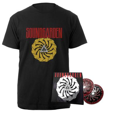 Soundgarden Badmotorfinger 25th Anniversary 2CD Deluxe + Tee Bundle