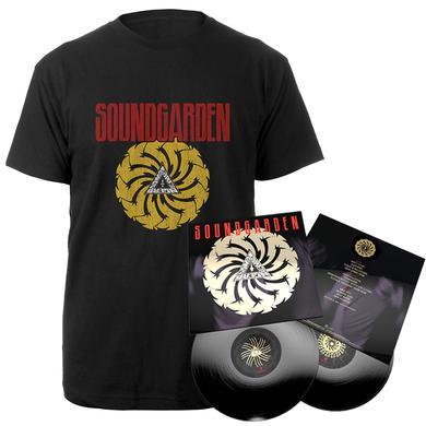 Soundgarden Badmotorfinger 25th Anniversary 2LP + Tee Bundle