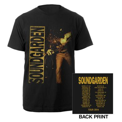 Soundgarden 2014 Louder Than Love Tour Tee