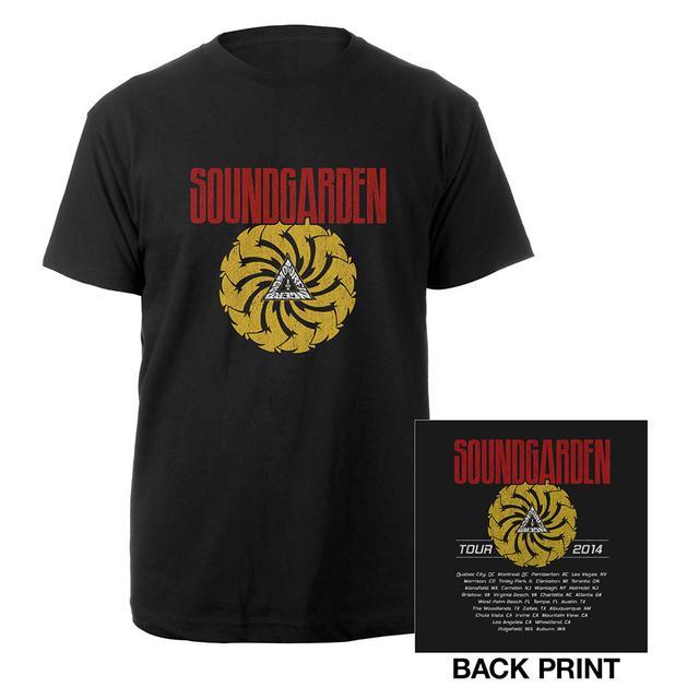 Soundgarden 2014 Badmotorfinger Tour Tee
