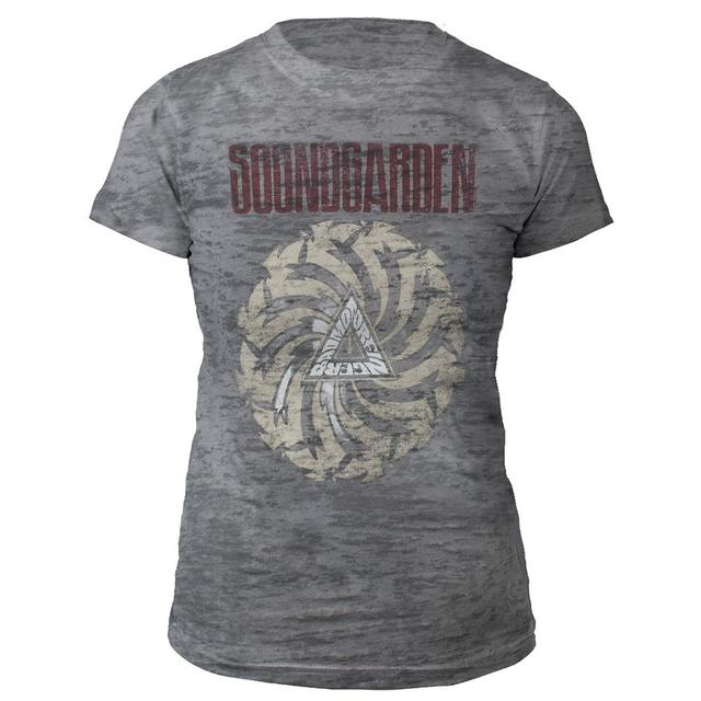 Soundgarden Women's Badmotorfinger Burnout Tee
