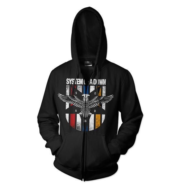 System Of A Down Eagle Hoodie