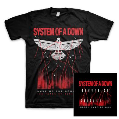 System Of A Down Overcome DB T-Shirt